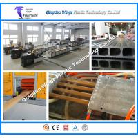 Quality High Output WPC Profile Production Line for Wood Plastic Pallet FlooringWall Clading Profiles for sale