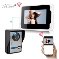 """Buy cheap 7"""" 1.0MP 3.6mm Camera WIFI Video Intercom With RFID Card from wholesalers"""