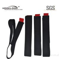 Quality Custom Hook And Loop Cable Tie  Cord Ties Label Printed Cleanable for sale