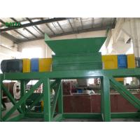 Quality Double Shaft Rubber Wood Shredder Machine Custom Color 22*2KW Low Maintainance for sale