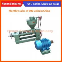 China 200kg/h Hot Sale High Quality Easy Handled Small Sunflower Oil Presses on sale