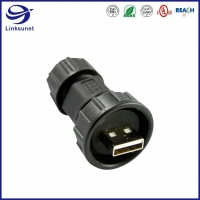 Quality USB IP67 Male and Female Waterproof Circular Connectors For New Energy Vehicles for sale