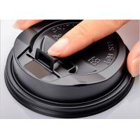 Quality Customized Party Paper Cups Lids , Plastic Coffee Lids For Tea / Beveage for sale