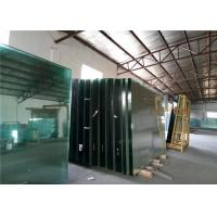 Quality Low Iron Ultra Clear Float Glass For Buildings Decorative , 1.8mm-19mm Thick for sale