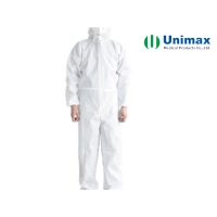 Quality 50gsm Non Woven SMS Disposable Protective Coveralls for sale