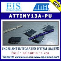 Quality ATTINY13A-PU - ATMEL IC - 8-bit Microcontroller with 1K Bytes In-System Programmable Flash for sale