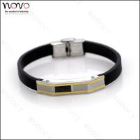 China 2016 hot Factory direct wholesale stainless steel Fashion Leather Bracelet wholesale