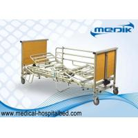 Electric Folding Semi Fowler Home Care Beds / Nursing Home Beds For Handicapped
