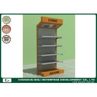 Quality Five Shelves Floor Retail Display Racks Punched 900L*450W*2000H for sale