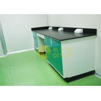 Quality 1000 * 750mm Chemical Resistant Table Tops With Chemical / Heat Resistant for sale