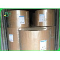 Quality Eco Friendly Kraft Paper Jumbo Roll 120gsm Customized Size For Fast Food Wrapping for sale