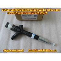 Quality Denso Common Rail Injector 095000-5250 095000-5251 for TOYOTA Landcruiser 23670-30070 for sale