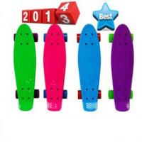 Quality Fashionable 22 inch plastic retro cruiser skateboard for Christmas for sale