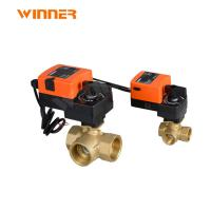 Quality 2 Way Hvac System Fan Coil Flow Control Valve For VRV Heat Pump Heating System for sale