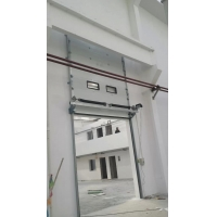 Buy cheap Electric Remote Overhead Sectional Door Panel For Logistic Park from wholesalers