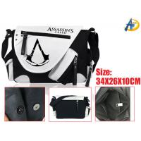 Quality Assassins Creed Game Canvas Satchel/Shoulder bag,anime Bags,anime plush bags,anime Wholesale for sale