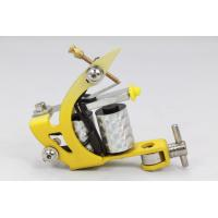 Quality yellow Professional Permanent shader tattoo machines gun for sale