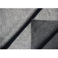Dark Grey Herringbone Wool Fabric In Stock For Long Winter Coats Mens