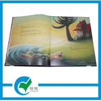 Quality OEM Story Hardcover Book Printing, 157g Glossy Paper Laminate 2mm Card Board for sale