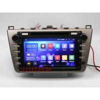 Quality Quad core Android 4.4 Car Stereo GPS Navigation DVD Multimedia Headunit For Mazda 6 Atenz for sale