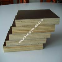 China One time hot pressed film faced plywood, Construction shuttering plywood, Marine shuttering board on sale