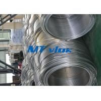 3 / 8 Inch ASTM A269 Small Diameter Stainless Steel Welded Super Long Coiled for sale
