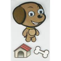 China Non-toxic animal Layered Stickers wholesale