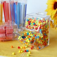 China Acrylic Candy dispenser with scoop,Acrylic Candy Box on sale