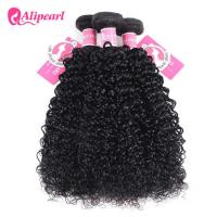 Quality Afro Kinky Curly Peruvian Hair Weave Bundles , Peruvian Curly Hair Bundles for sale