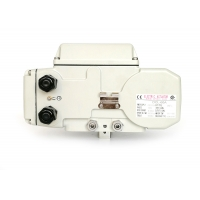 Quality Switchable 1/4 Turn 100Nm Compact Actuator With Dome Indicator for sale