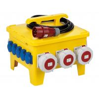 Buy Portable Temporary Power Distribution Center Polyethylene Strong Plastic Housing at wholesale prices
