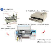 Buy cheap CHMT530P4 SMT Production Line With Pnp Machine Solder Paste Printer T962A Reflow from wholesalers