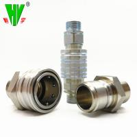 Quality Reusable hydraulic fittings China manufacturer hydraulic quick coupler for sale