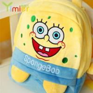 spongebob stuffed toy backpack