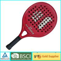 Buy cheap Red Adult & Kids Beach Paddle Racket Carbon professional paddle ball rackets from wholesalers
