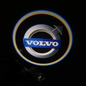Quality Car LED Logo courtesy Light LED Projector Laser light for VOLVO S80 S60 S80L S60L V60 XC90 for sale