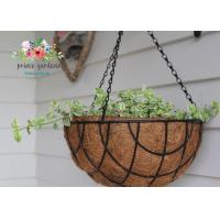 Quality Fashion Colorful Decorative Hanging Flower Pots Garden Ornamental for sale