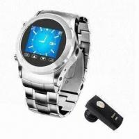 Quality 1.3-inch Touch Screen Men's Mobile Phone Watch Supports 4GB T-flash Card with GPRS/GSM System for sale