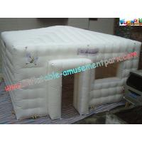 Quality PVC Coated Nylon Inflatable Party Tent , Inflatable Outdoor Tent Marquee for sale