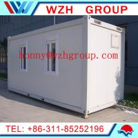 Quality 20 feet flat pack container house for office for sale