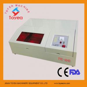 400 X 400mm mini laser engraving machine for small craft TYE-4040