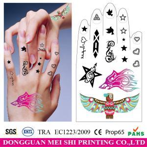 China Hand decoration temporary tattoo sticker body tattoos fake tattoo sticker on sale