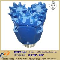 Quality API standard big steel tooth tricone rock bits for 300 meters water drilling for sale