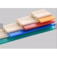 Quality 75A Blade Wood Handle Screen Printing Squeegee Free Size Ink Scraper for Silk Screen Printing for sale