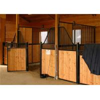 Buy cheap Horse Stable Panels Bamboo Plate / Horse Barn With Swivel Feeder from wholesalers