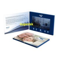 Quality Bespoke Personalized  Invitation Video Card Business Video Greeting Card for sale