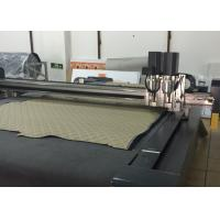 Quality Automatic Conveyor Car Foot Pad Door Mat Production Cutting Machine for sale