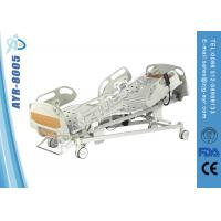 China Portable ICU Semi Electric Hospital Bed Intensive Care Bed With ABS Soft Joint on sale