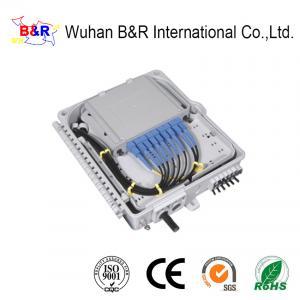 Quality OEM 8 Port Fiber Termination Box With SC/UPC SC/APC Connector for sale