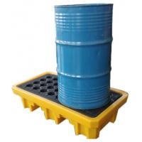 Quality Iso Oil Drum Spill Containment Pallet Deck IBC Spill Pallet 43-200L Sump for sale